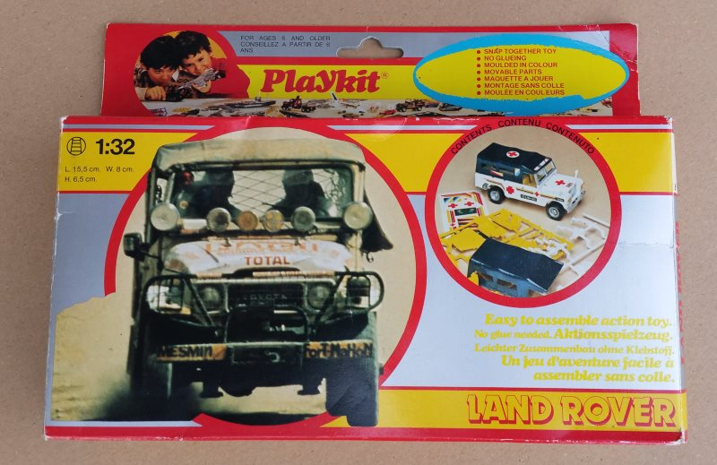 Land Rover du FOLM Dakar Kit