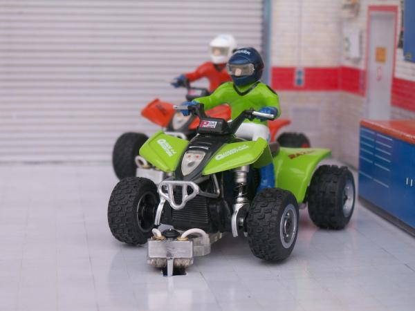 TT, Tout Terrain, Off Road, Rallye Raid, etc. Power-slot-quads